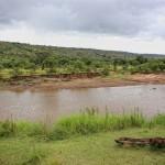 Wasserloch vor dem Karen Blixen Camp