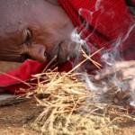 Massai Dorf / Feuerstelle
