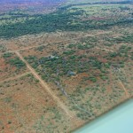 Severin Safari Camp aus der Vogelperspektive
